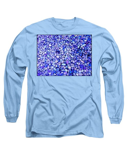 Got  The  Blues Long Sleeve T-Shirt by MaryLee Parker