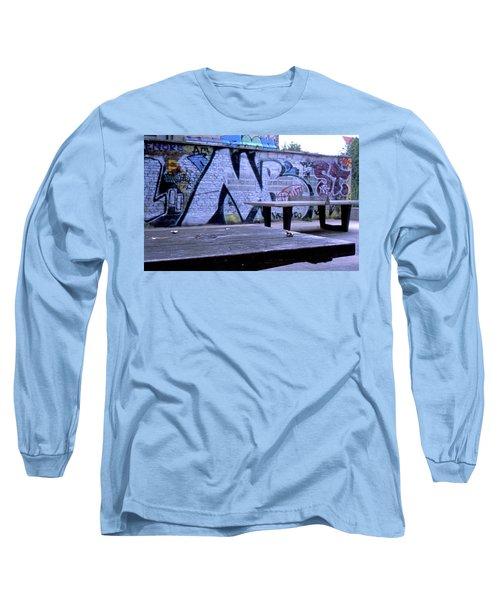 Graffiti Table Long Sleeve T-Shirt