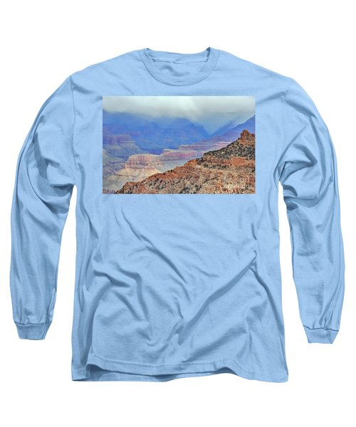 Grand Canyon Levels Long Sleeve T-Shirt by Debby Pueschel