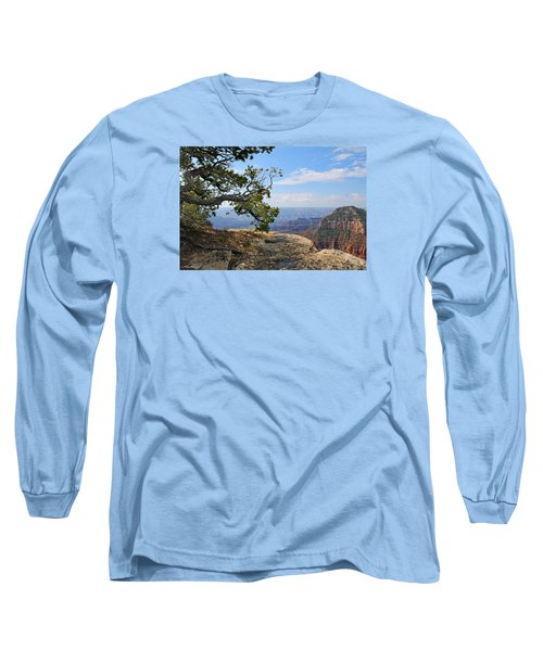 Grand Canyon North Rim Craggy Cliffs Long Sleeve T-Shirt