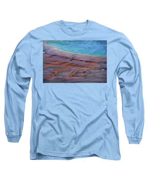 Grand Prismatic Spring Detail Long Sleeve T-Shirt