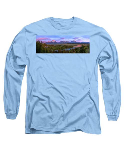 Grand Tetons Long Sleeve T-Shirt by Chad Dutson