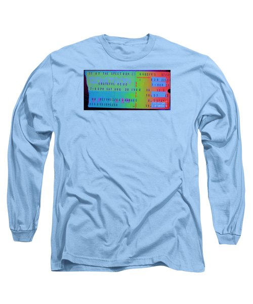 Grateful Dead - Ticket Stub Long Sleeve T-Shirt