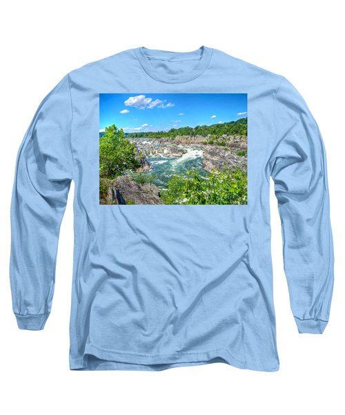 Great Falls On The Potomac Long Sleeve T-Shirt