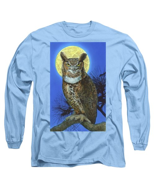 Great Horned Owl 2 Long Sleeve T-Shirt