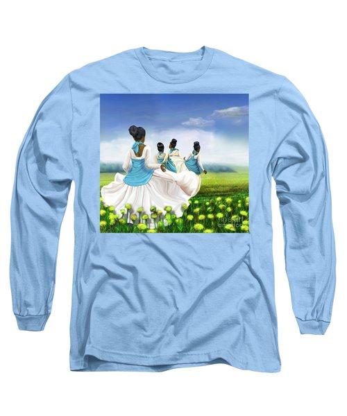 Green Pastures Long Sleeve T-Shirt