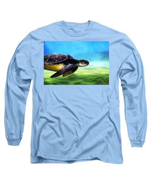 Green Sea Turtle 2 Long Sleeve T-Shirt