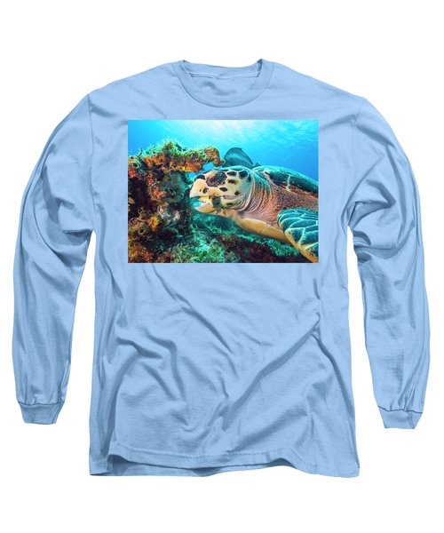 Green Turtle Dining Long Sleeve T-Shirt