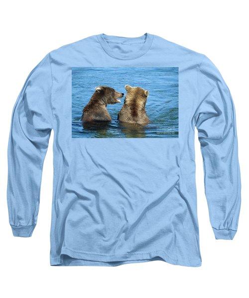 Grizzly Bear Talk Long Sleeve T-Shirt
