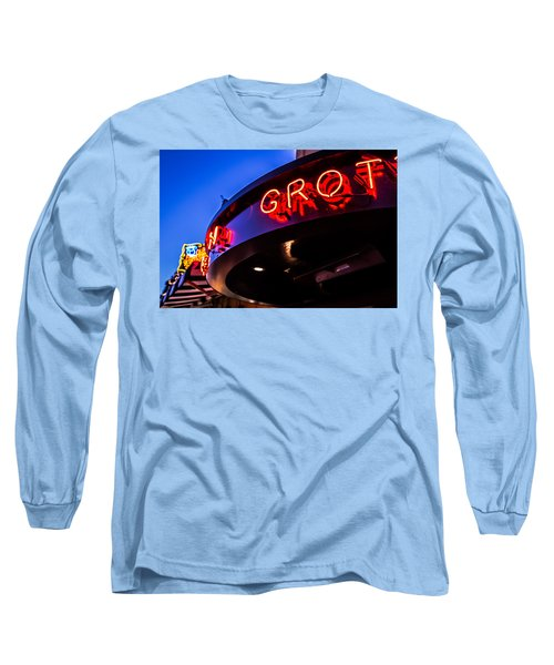 Grotto - Night View Long Sleeve T-Shirt
