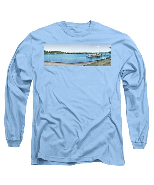 Gull Lake Panorama Long Sleeve T-Shirt