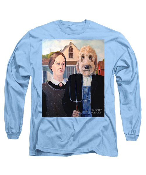 Gunther Goes Goth Long Sleeve T-Shirt by Diane Daigle