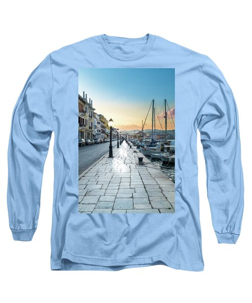 Gythion / Greece Long Sleeve T-Shirt by Stavros Argyropoulos