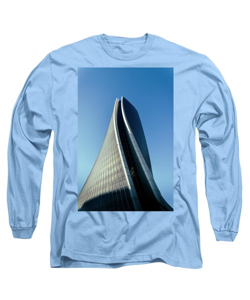 Hadid Tower, Milan, Italy Long Sleeve T-Shirt