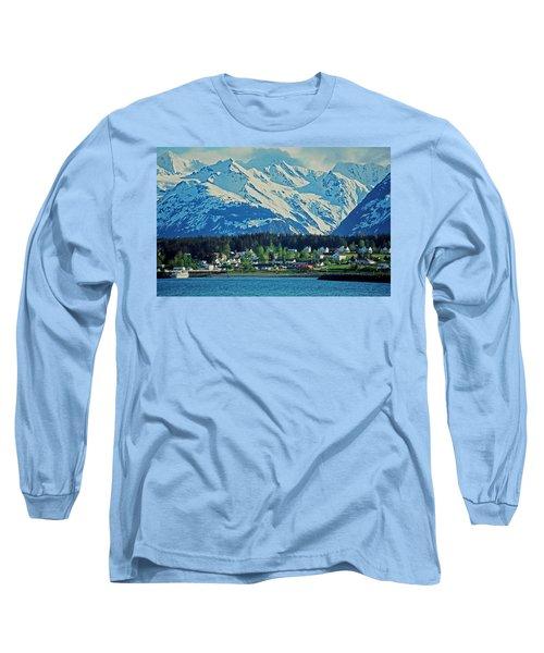 Haines - Alaska Long Sleeve T-Shirt by Juergen Weiss