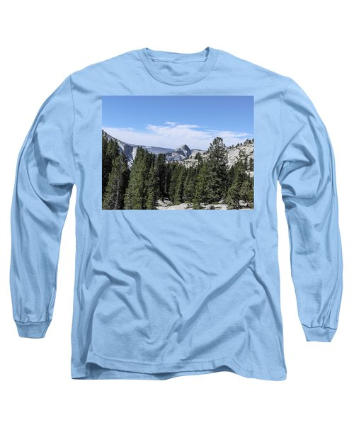 Half Dome From Olmstead Point Yosemite Valley Yosemite National Park Long Sleeve T-Shirt