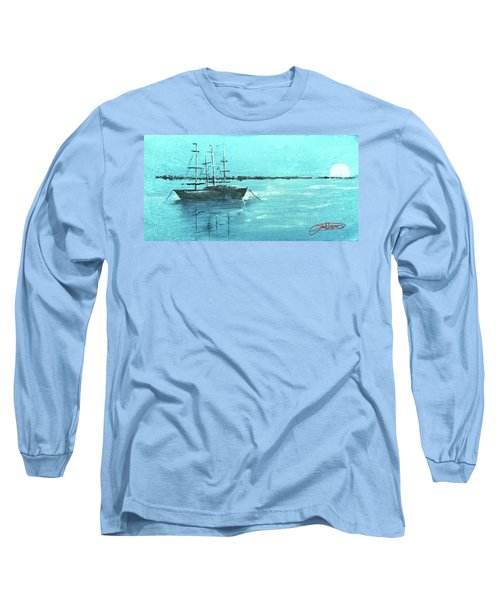 Half Moon Harbor Long Sleeve T-Shirt