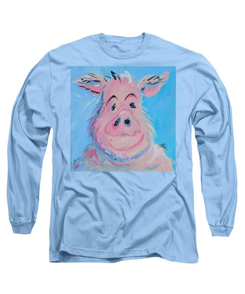 Hank Long Sleeve T-Shirt by Terri Einer