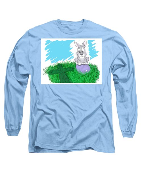 Happy Easter Long Sleeve T-Shirt by Antonio Romero