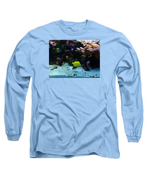 Happy Fish At Panda Garden Restaurant Long Sleeve T-Shirt