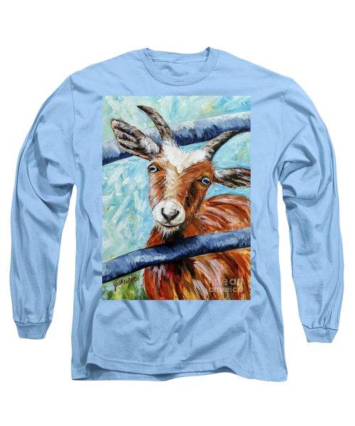 Happy Goat Long Sleeve T-Shirt