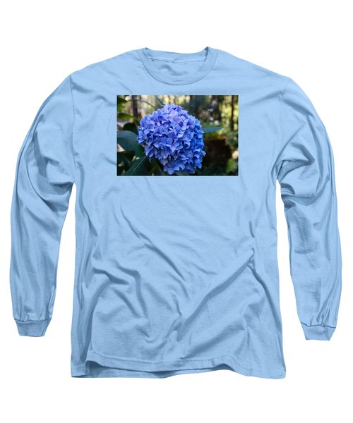 Happy Hydrangea Long Sleeve T-Shirt