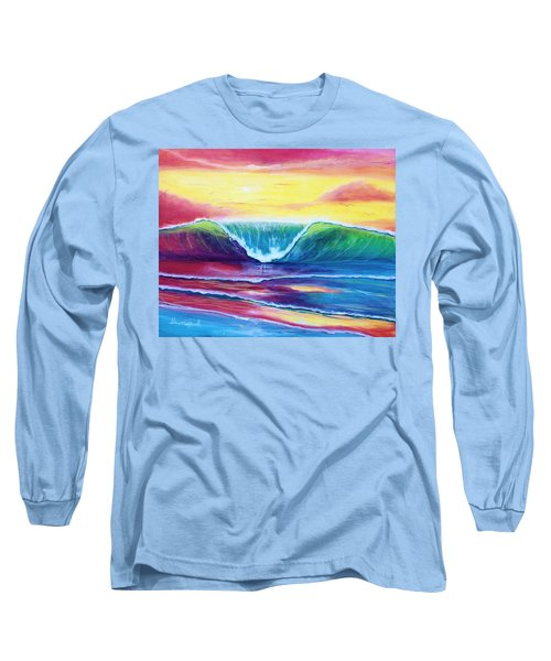 Happy Wave Long Sleeve T-Shirt