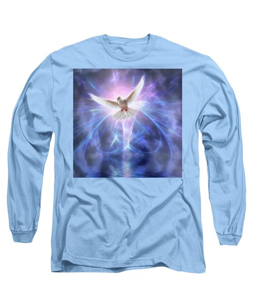 Harbinger II #fantasy #fantasyart Long Sleeve T-Shirt by John Edwards
