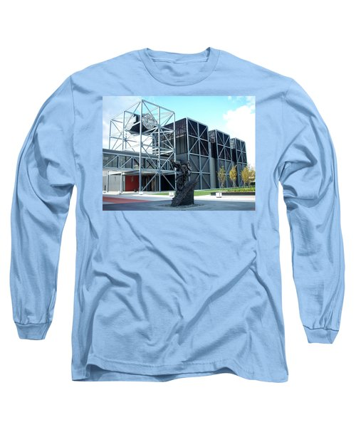 Harley Museum And Statue Long Sleeve T-Shirt