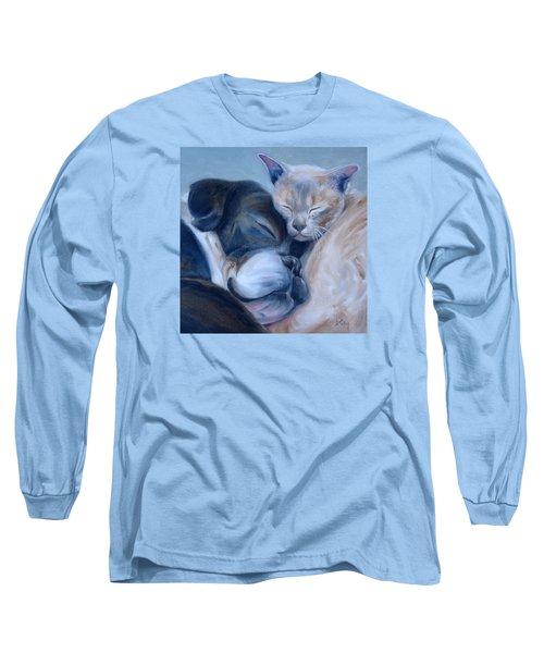 Harmony Long Sleeve T-Shirt by Donna Tuten
