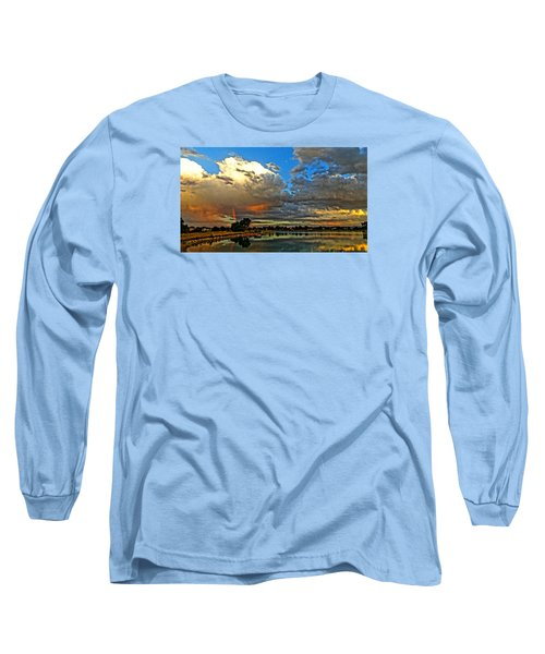 Harper Lake Long Sleeve T-Shirt by Eric Dee