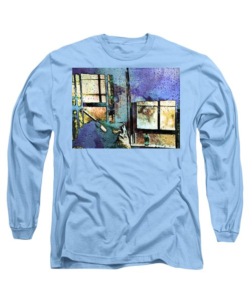 Hat And Glass Bottle Long Sleeve T-Shirt