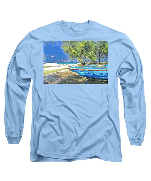 Hawaii Boats Long Sleeve T-Shirt