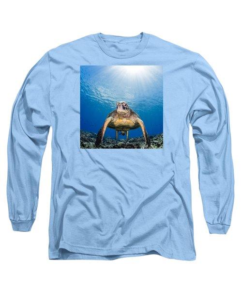 Hawaiian Turtle Long Sleeve T-Shirt