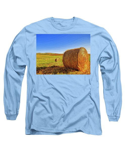 Hay Bales Long Sleeve T-Shirt