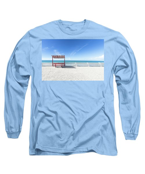 He And She Long Sleeve T-Shirt by Edgar Laureano