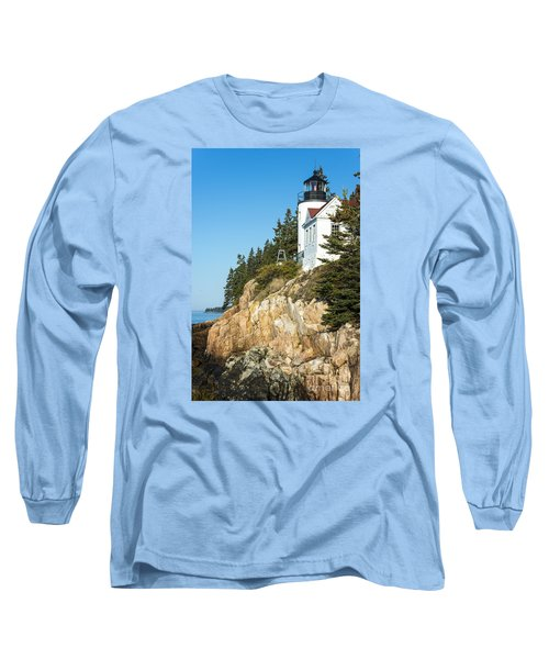 Head Lighthouse Long Sleeve T-Shirt by Anthony Baatz