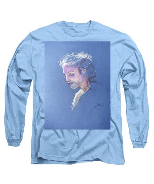 Head Study 6 Long Sleeve T-Shirt