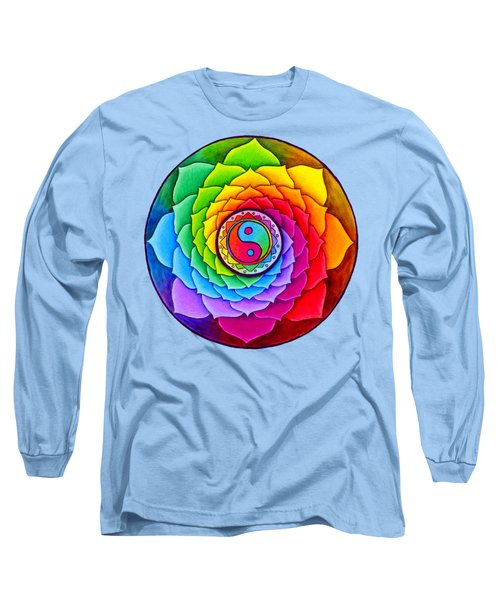 Healing Lotus Long Sleeve T-Shirt