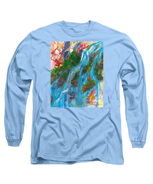 Healing Waters Long Sleeve T-Shirt by Denise Hoag