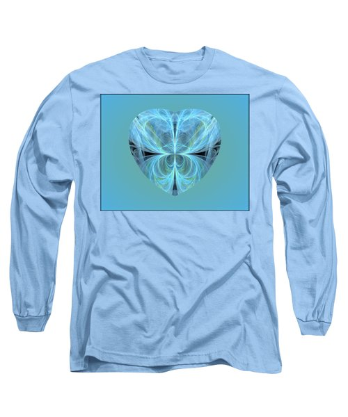 Heart - Ghost Blue Long Sleeve T-Shirt