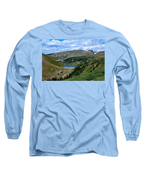 Heart Lake In The Indian Peaks Wilderness Long Sleeve T-Shirt
