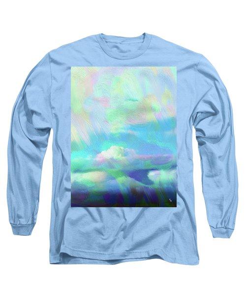 Heaven Long Sleeve T-Shirt by Karen Nicholson
