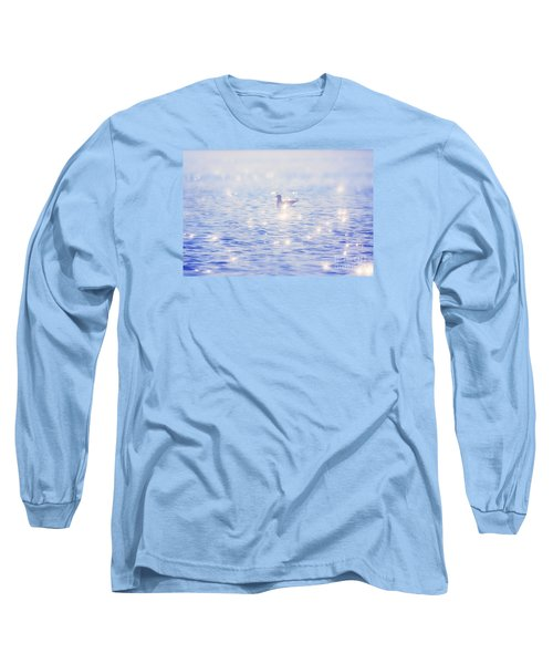 Heaven On The Lake- Lake Mary Ronan  Long Sleeve T-Shirt by Janie Johnson