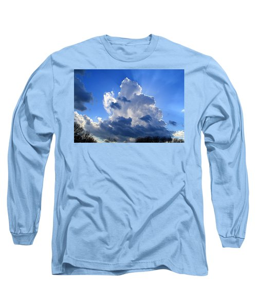 Long Sleeve T-Shirt featuring the photograph Heavenly Sunlight by Kathryn Meyer