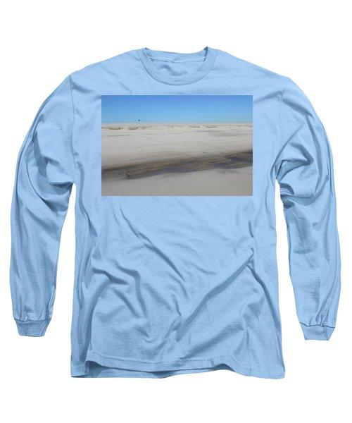 Helecopter Shirley New York Long Sleeve T-Shirt by Bob Savage