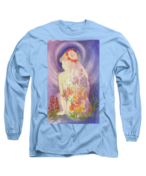 Herbal Goddess  Long Sleeve T-Shirt