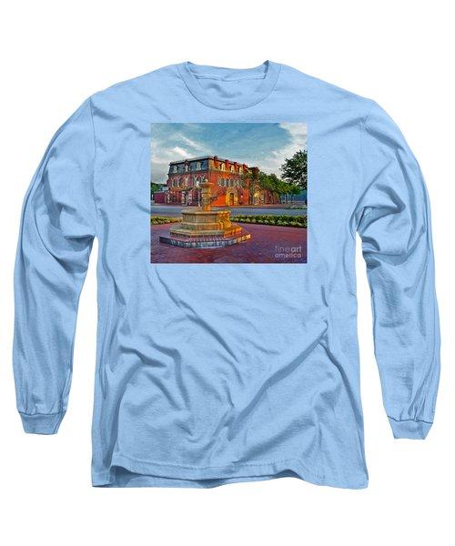 Hermannhof Festhalle Long Sleeve T-Shirt by William Fields