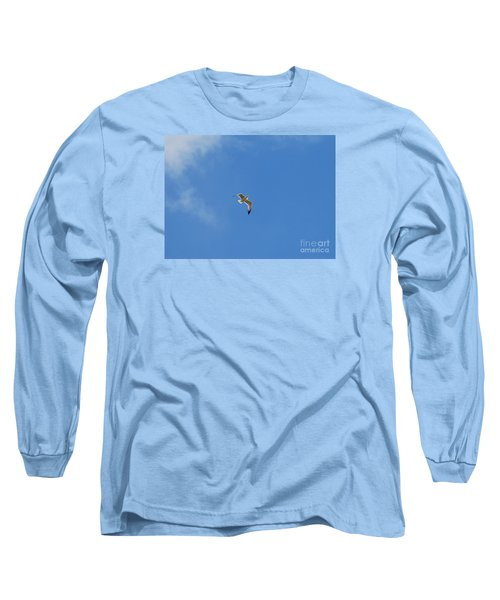 Long Sleeve T-Shirt featuring the photograph Herring Sea Gull 20120409_244a by Tina Hopkins
