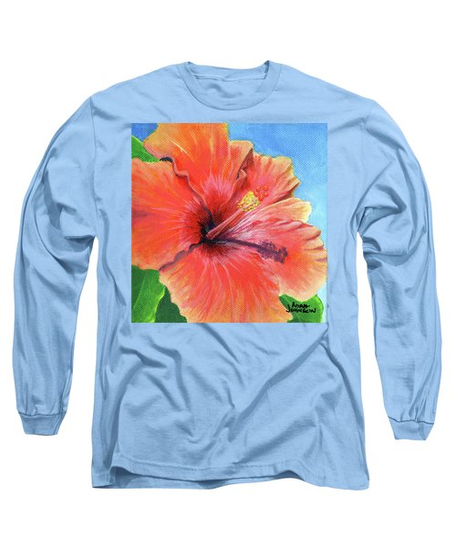 Hibiscus Passion Long Sleeve T-Shirt